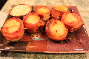 bbq bacon scallops