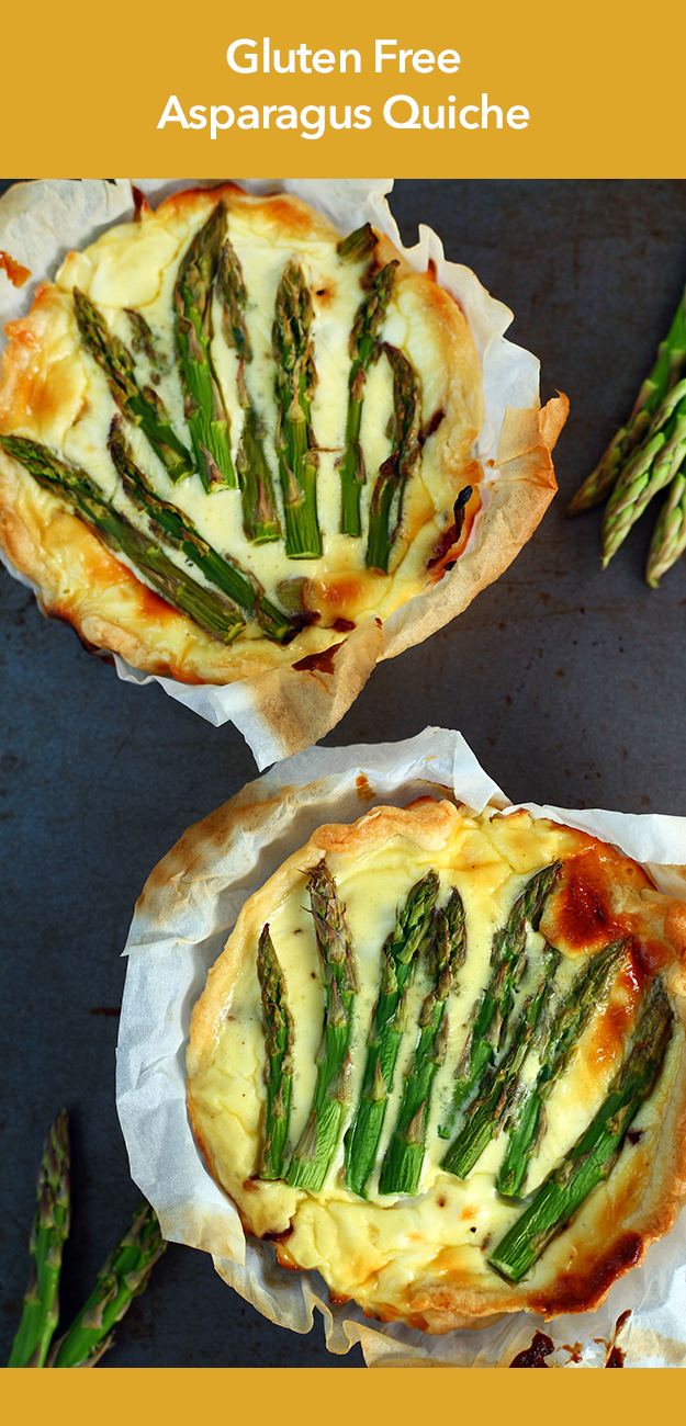 Asparagus Quiche - GLUTEN-FREE FOR THE FAMILY